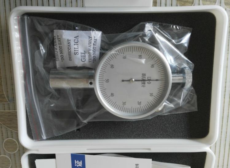 邵氏橡胶硬度计LX-D带测试台供应 专测高硬度材料