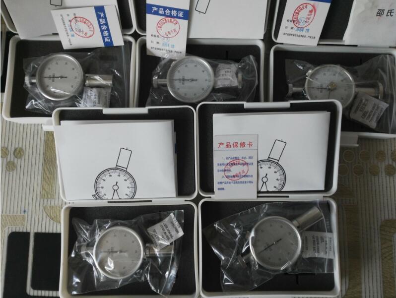 全自动lx-a型邵氏硬度计-减振器硬度值测试仪